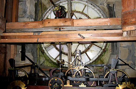 church clock maintenance image